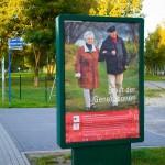 Werbetafel-Leuchtkasten in Hennigsdorf
