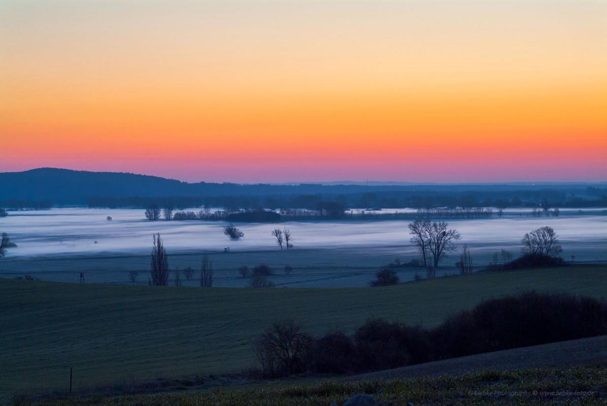 Morgens im Oderland