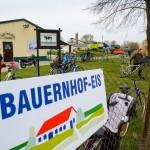 Bauernhof - Eis an der Milchtankstelle Vehlefanz / Oberhavel