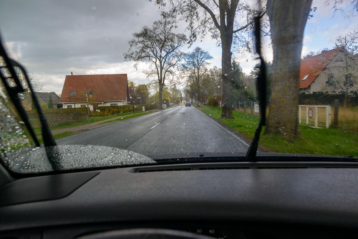 Schmachtenhagen im Regen