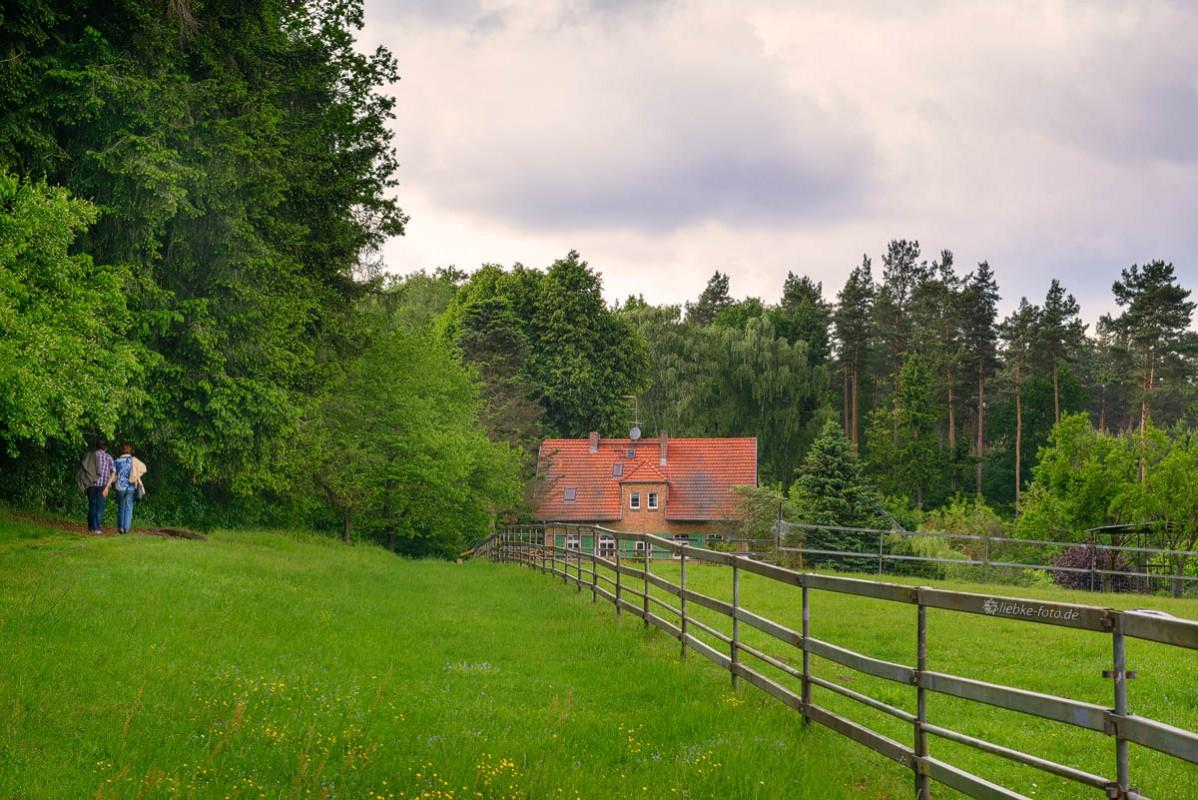 Das Briesetal im Naturpark Barnim - Das Forsthaus