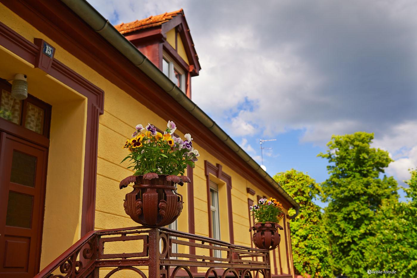 Schöne Details an den Häusern
