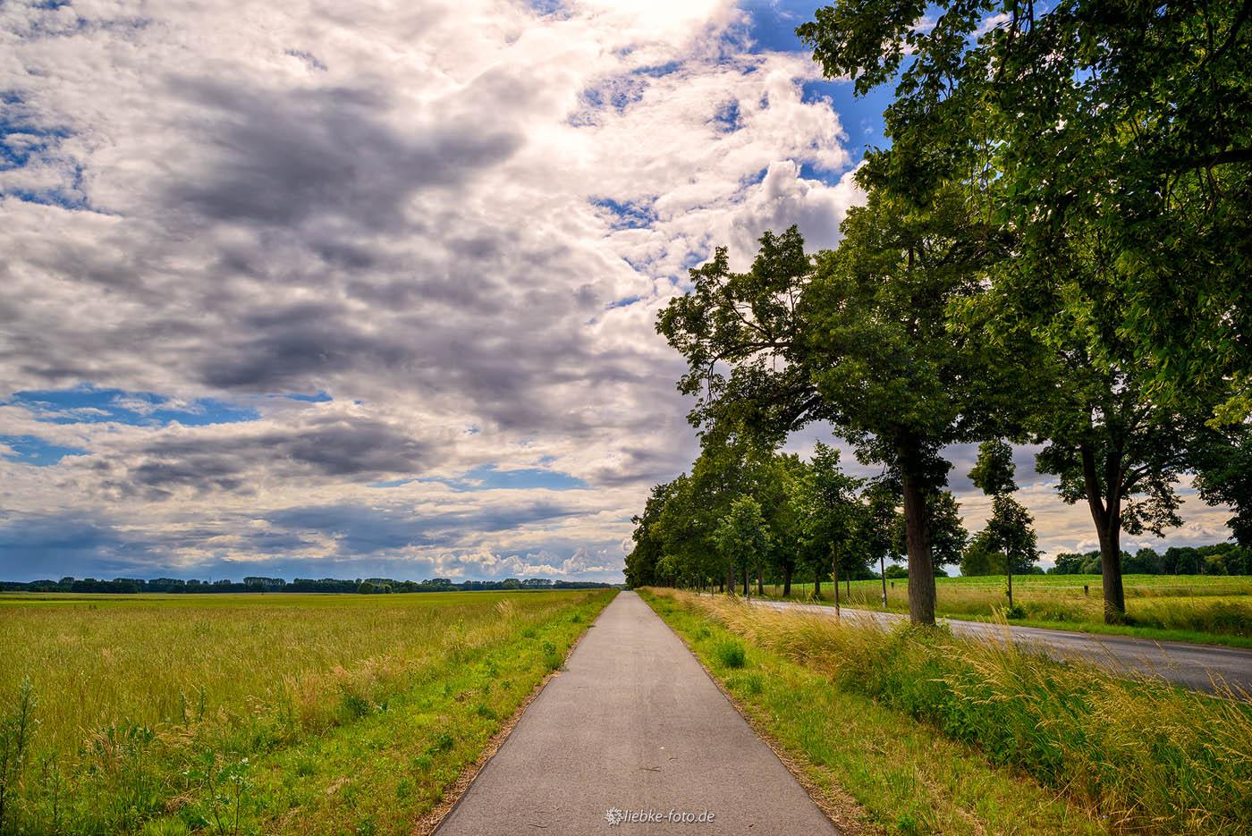 Radweg nach Schmachtenhagen, Oranienburg