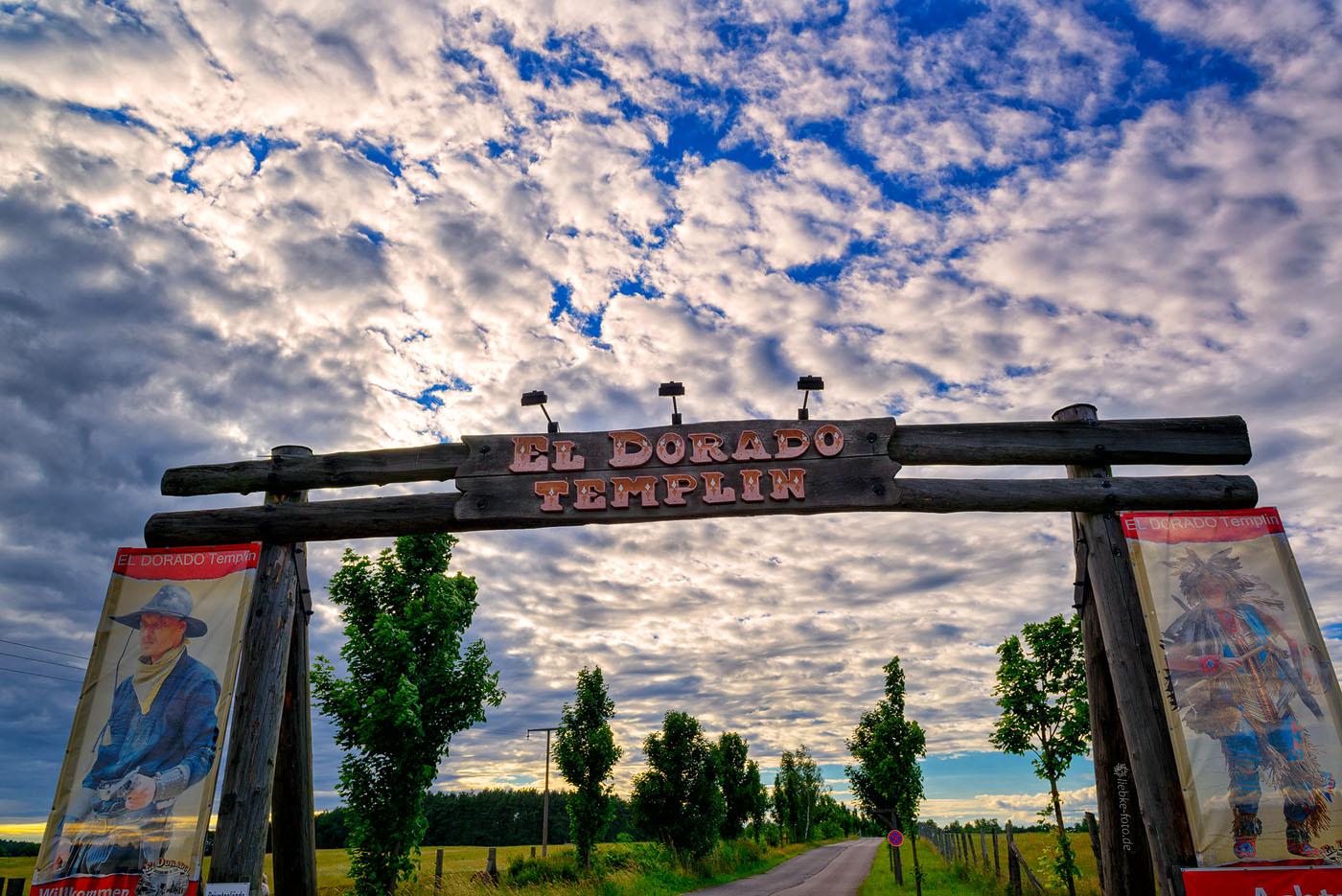 In Templin gibt es noch richtige Cowboys...