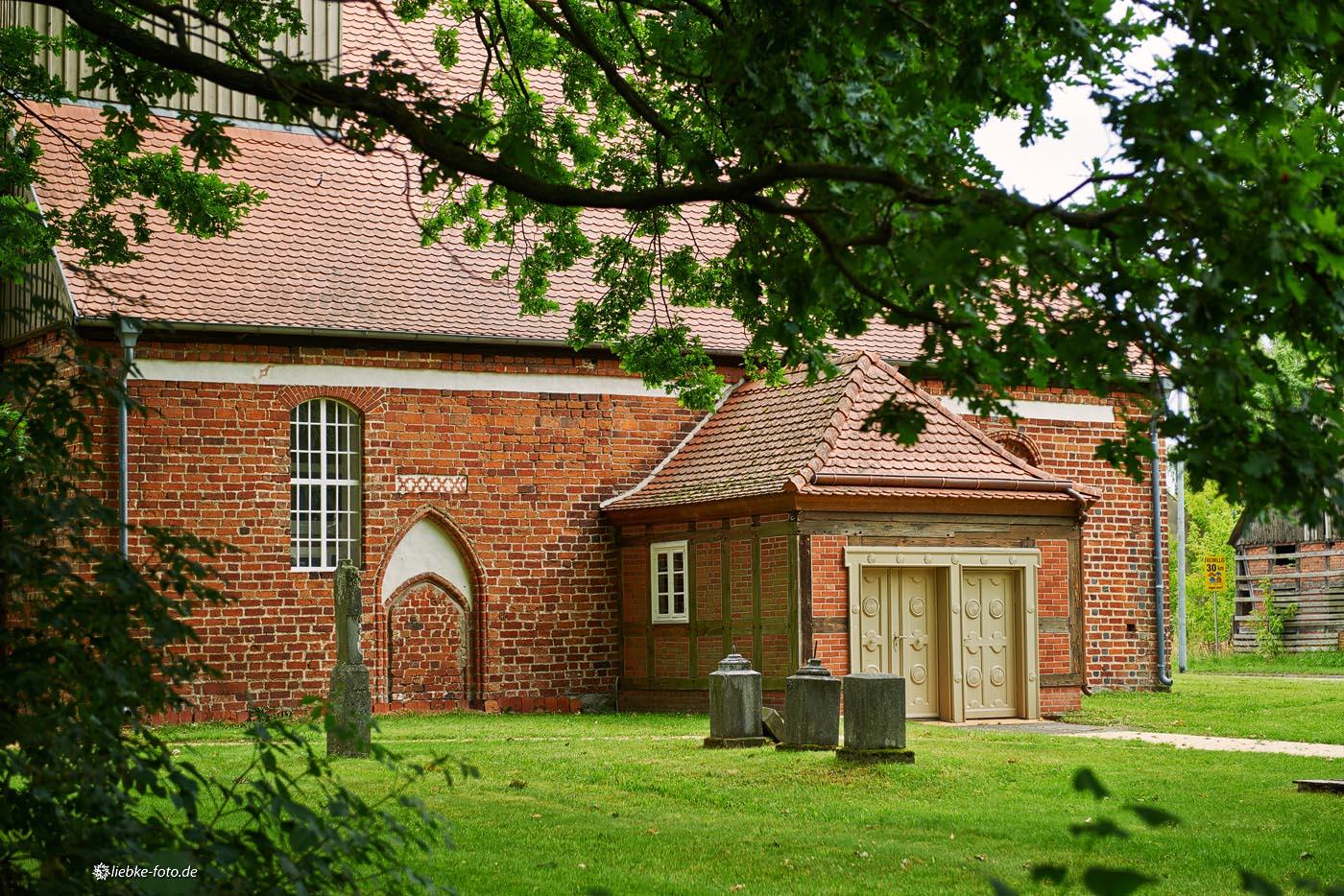 Details der Kirche von Staffelde