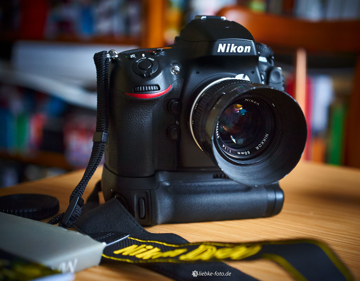 Nikon D800 mit manuellem Nikkor 1,4/50 aus den 70ern