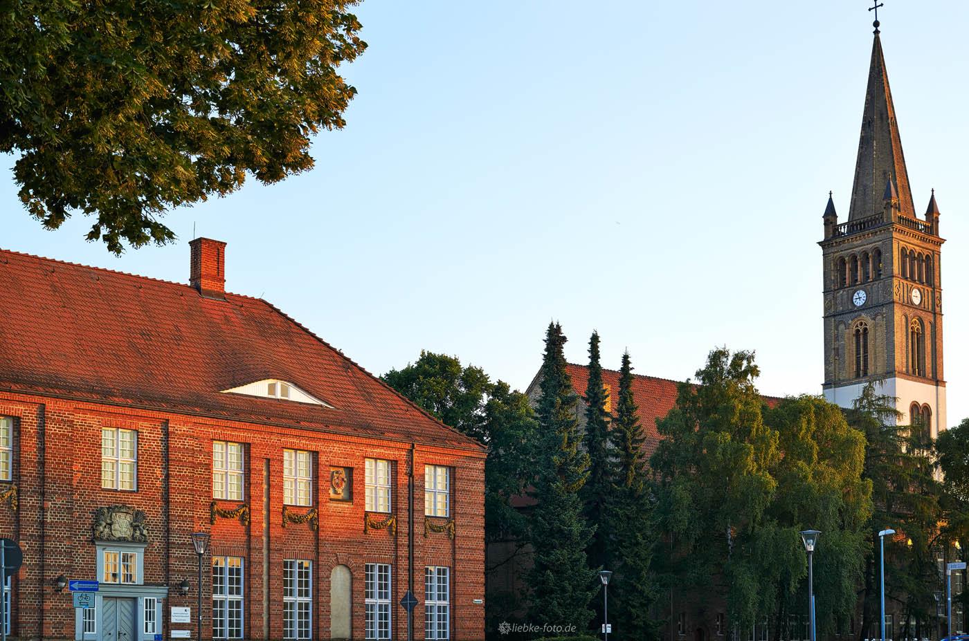 Historisches Waisenhaus und Kirche Oranienburg