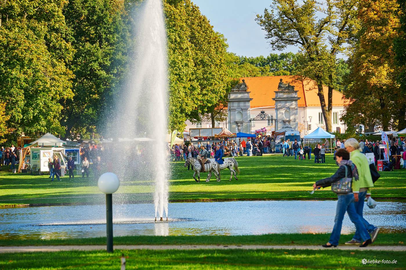 Regionalmarkt 2014 auf dem Oranienburger Schlossgelände