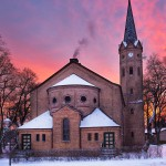 Kirche Birkenwerder, Nikon D700, RAW