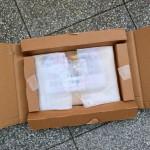 Sehr gut und stoßsicher verpackt kommt das Bild zum Kunden