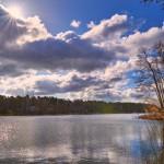 Märkisches Licht über dem Stolzenhagener See