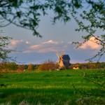 Mühle Vehlefanz im Abendlicht