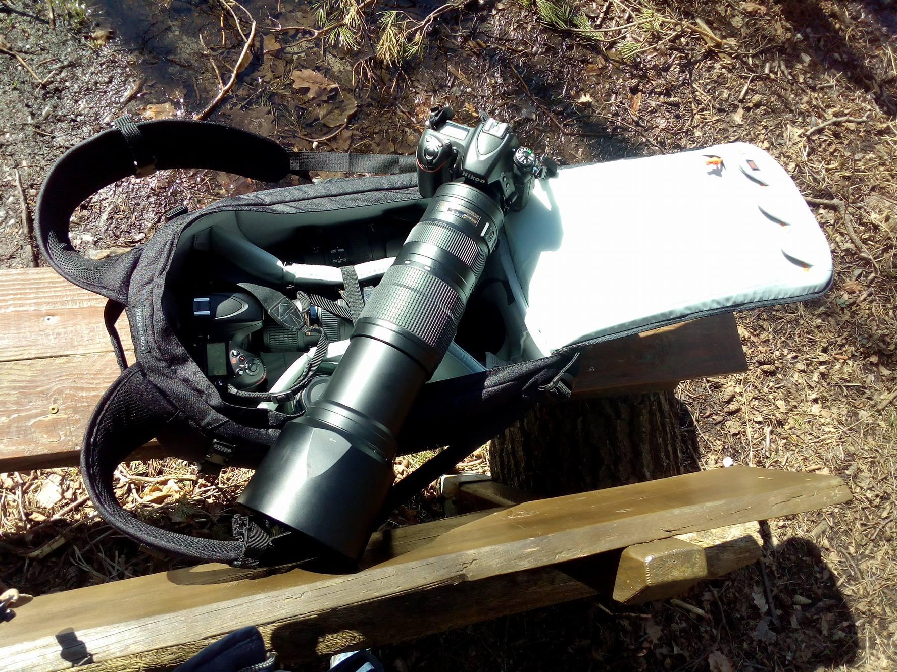 Meine (alten) Nikons und der Fotorucksack von Lowepro
