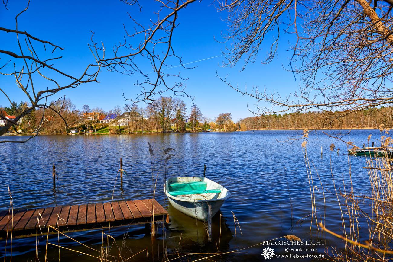 Der Krummer See bei Krummensee