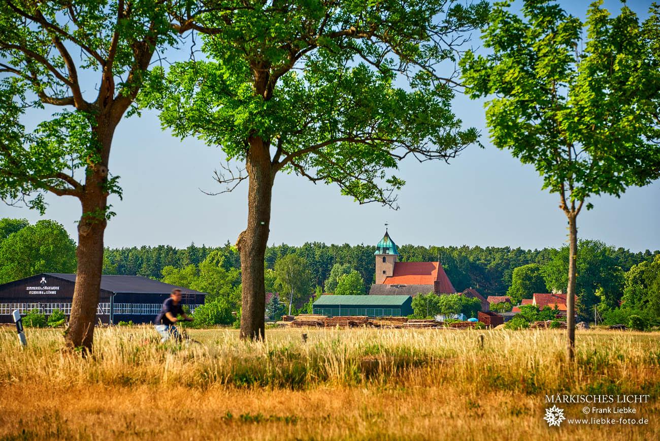 Blick auf Sommerfeld, Kremmener Land