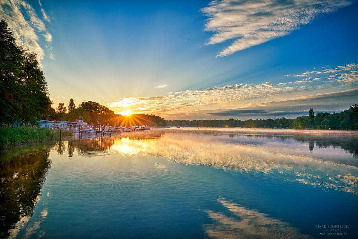 Sommermorgen am Lehnitzsee in Oranienburg
