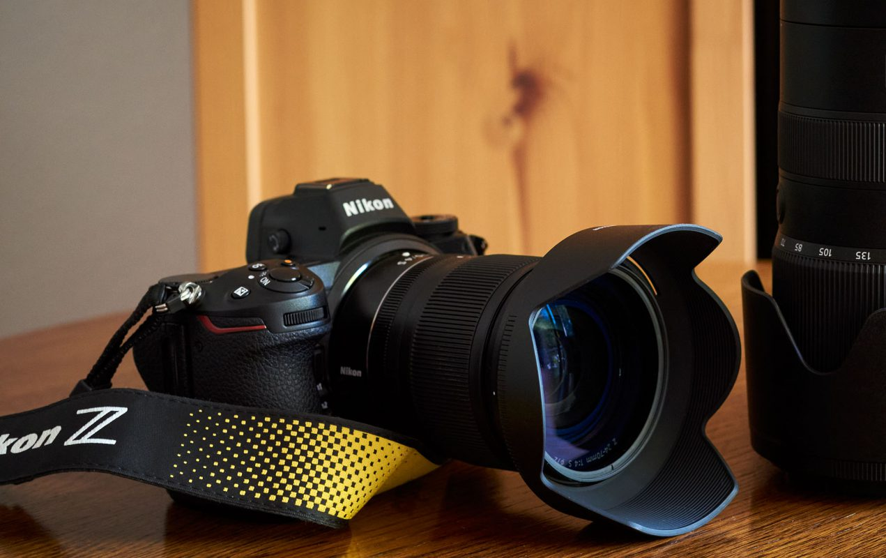 Die neue Nikon Z7 mit dem Nikkor 24-70/4 S