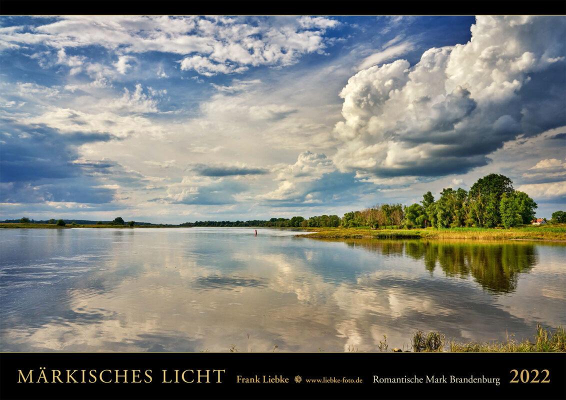 Titelbild des neuen A2-Kalenders Märkisches Licht, Romantische Mark Brandenburg