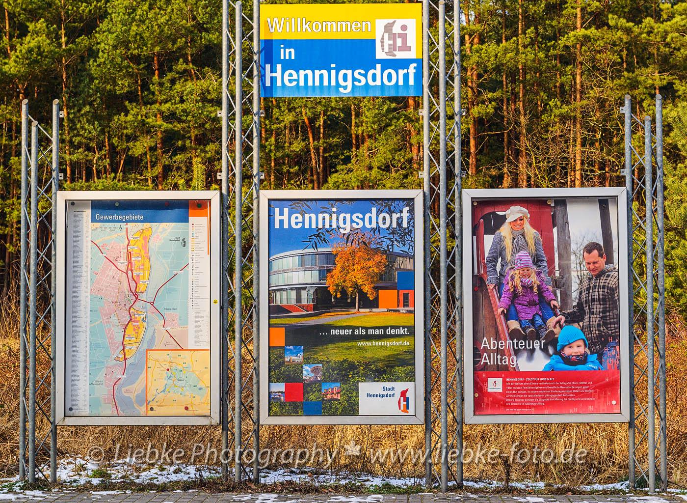 Großbildkampagne Stadtwerbung Hennigsdorf
