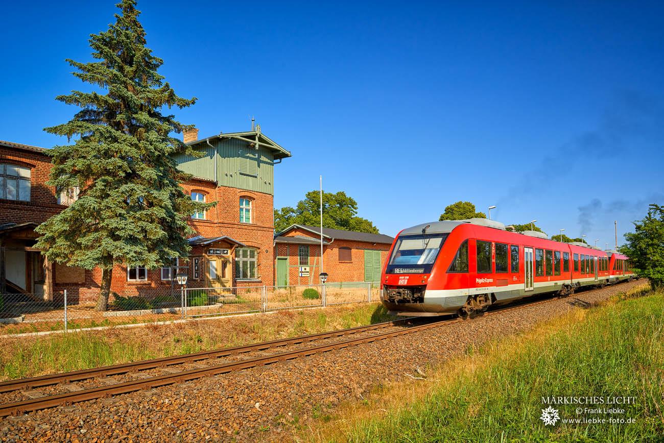 Sommerfeld Bahnhof